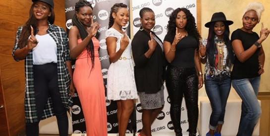 """Arielle T et plusieurs artistes, pour l'autonomisation des femmes en Afrique dans le cadre de la campagne """" La pauvreté est sexiste """""""