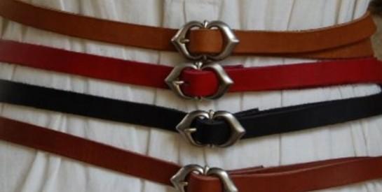 La ceinture peut changer votre style!