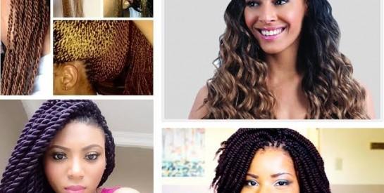 Modèle de coiffure : Le crochet braids