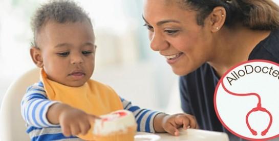 ''A 7 mois, mon bébé veut la nourriture pour grande personne''